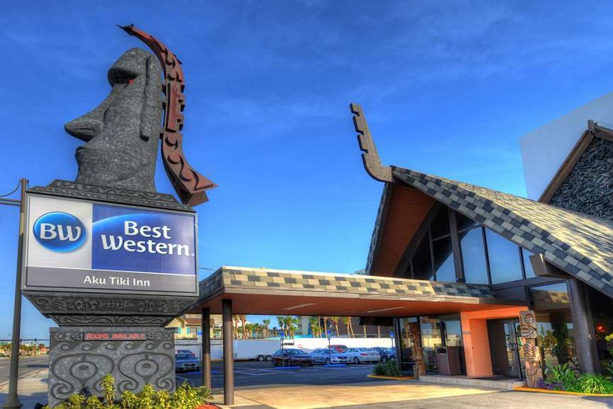 Best Western Aku Tiki Inn - BEST WESTERN Aku Tiki Inn-the Ocean is just steps away