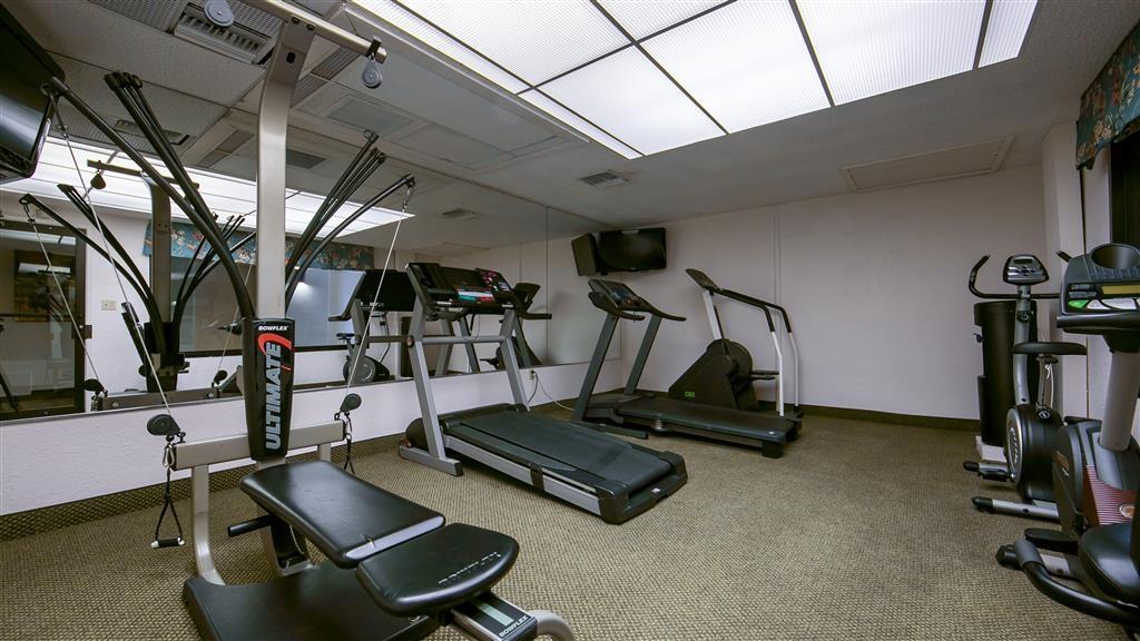 Best Western Plus University Inn - Grazie al nostro centro fitness potrai mantenerti in forma anche mentre sei in viaggio.