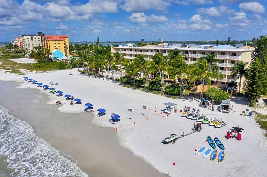 Best Western Plus Beach Resort - Aerial Beach