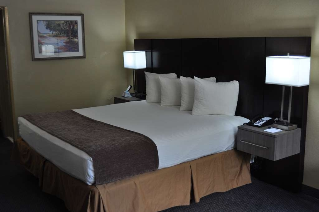 Best Western Cocoa Inn - Relax after a long day of travel in our king guest room.
