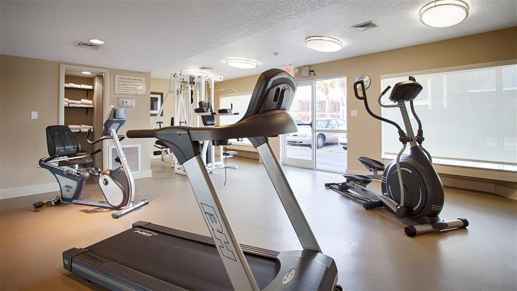 Best Western Space Shuttle Inn - Our fitness center allows you to keep up with your home routine…even when you're not at home.
