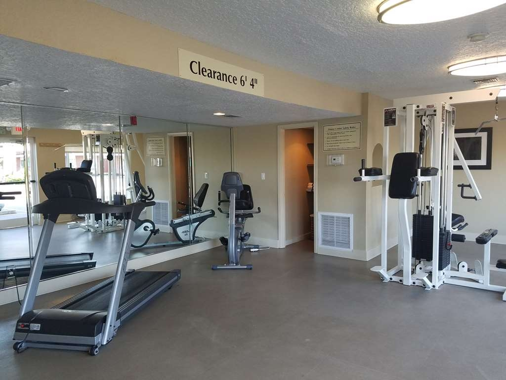 Best Western Space Shuttle Inn - Come walk a mile on our treadmill.