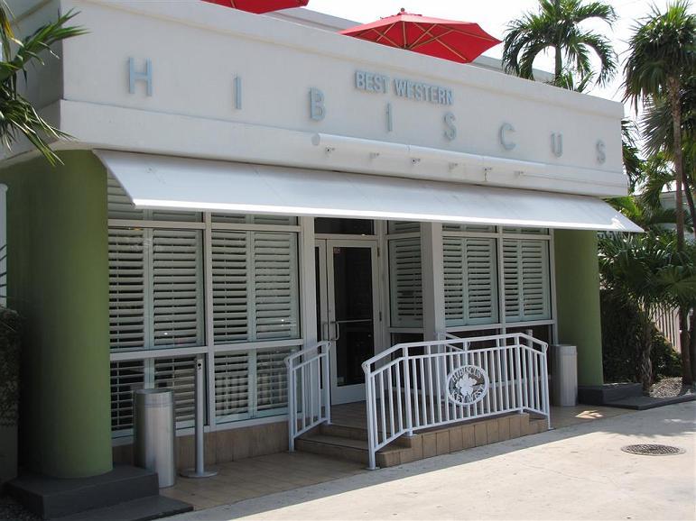 Best Western Hibiscus Motel - Façade