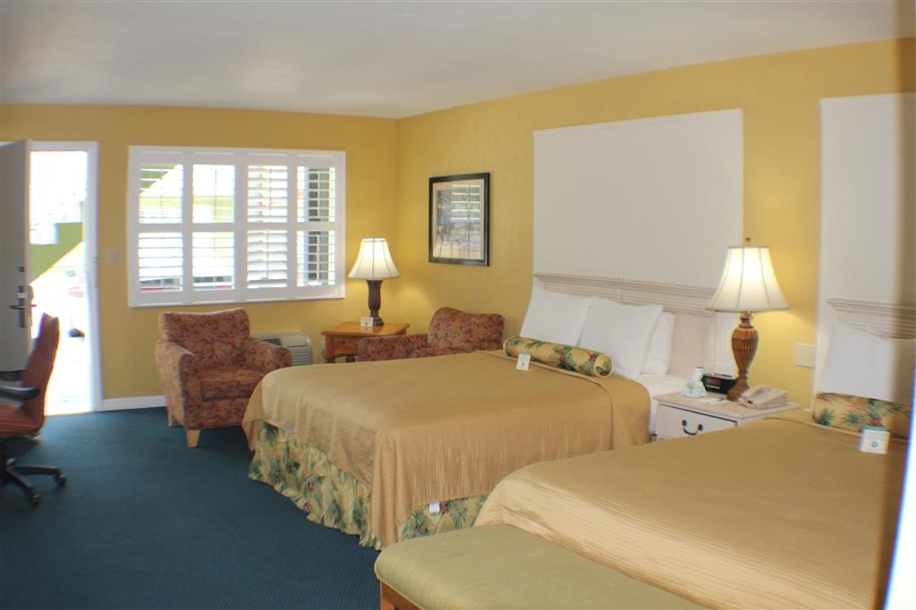 Best Western Hibiscus Motel - Our Two Queen ADA Mobility Accessible Room