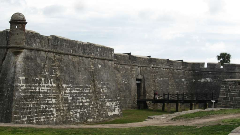 Best Western Historical Inn - The Castillo de San Marcos is the oldest masonry fort in the continental United States.