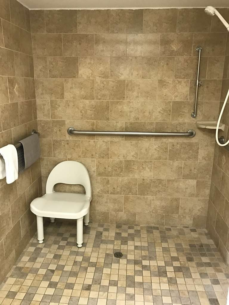 Best Western Inn of Palatka - ADA Mobility Accessible Roll In Shower