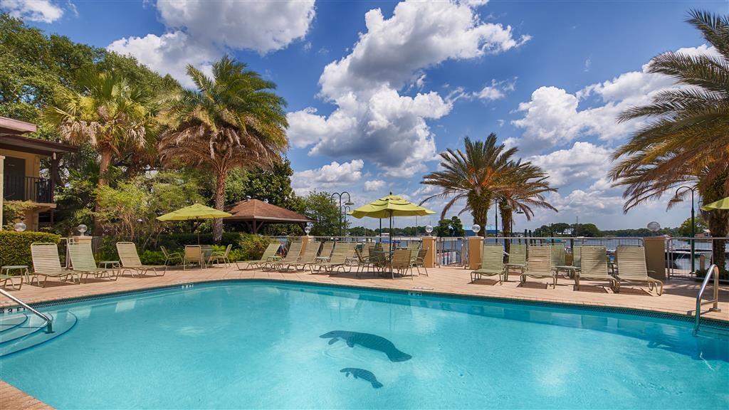 Best Western Crystal River Resort - Egal, ob Sie auf der Suche nach Entspannung am Pool sind oder eine Runde schwimmen möchten, unser Poolbereich im Freien ist der ideale Ort dafür.