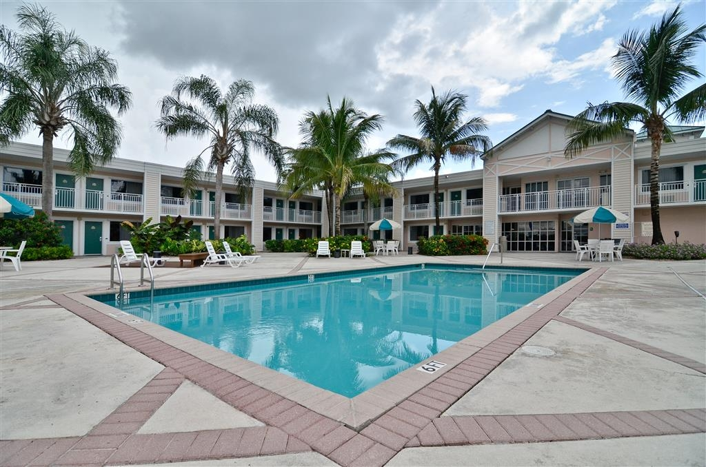 Best Western Gateway to the Keys - Relax and enjoy the largest pool area in town.