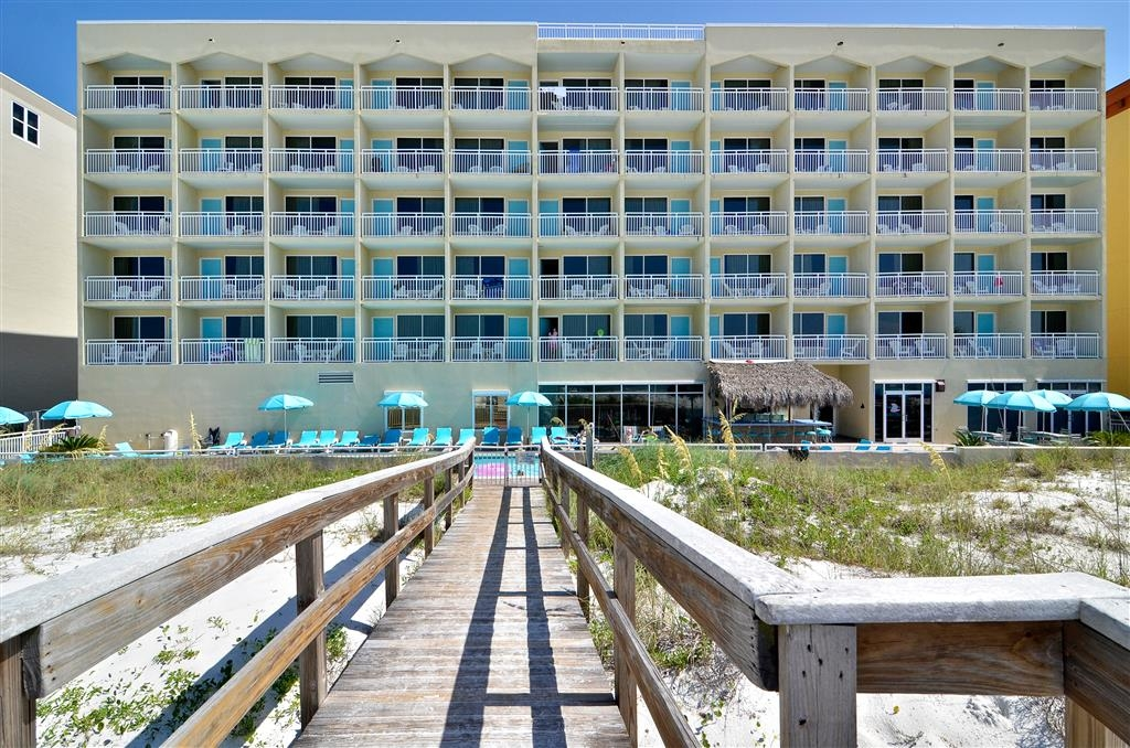 Best Western Ft. Walton Beachfront - Vista Exterior