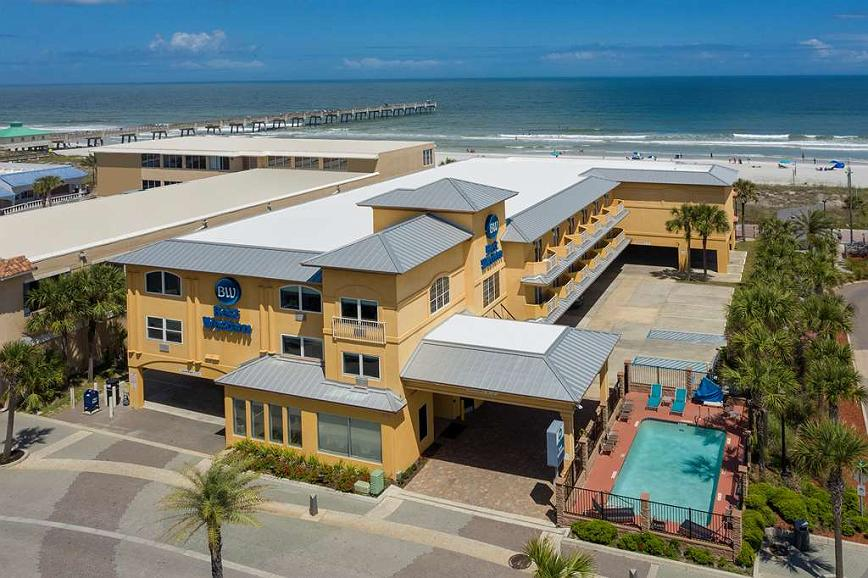 Hotel In Jacksonville Beach Best Western Oceanfront