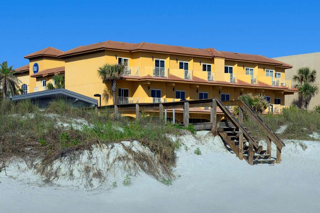 Best Western Oceanfront - Exterior from the beach. Enjoy a walk; take in the sun.