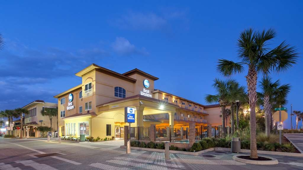 Best Western Oceanfront - Best Western Oceanfront Exterior (Evening). Welcome to Florida's First Coast.