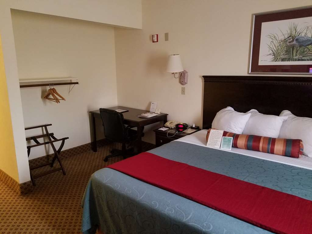 Best Western Gateway Grand - Relax after a long day of travel in our king mobility accessible guest room with a microwave and refrigerator