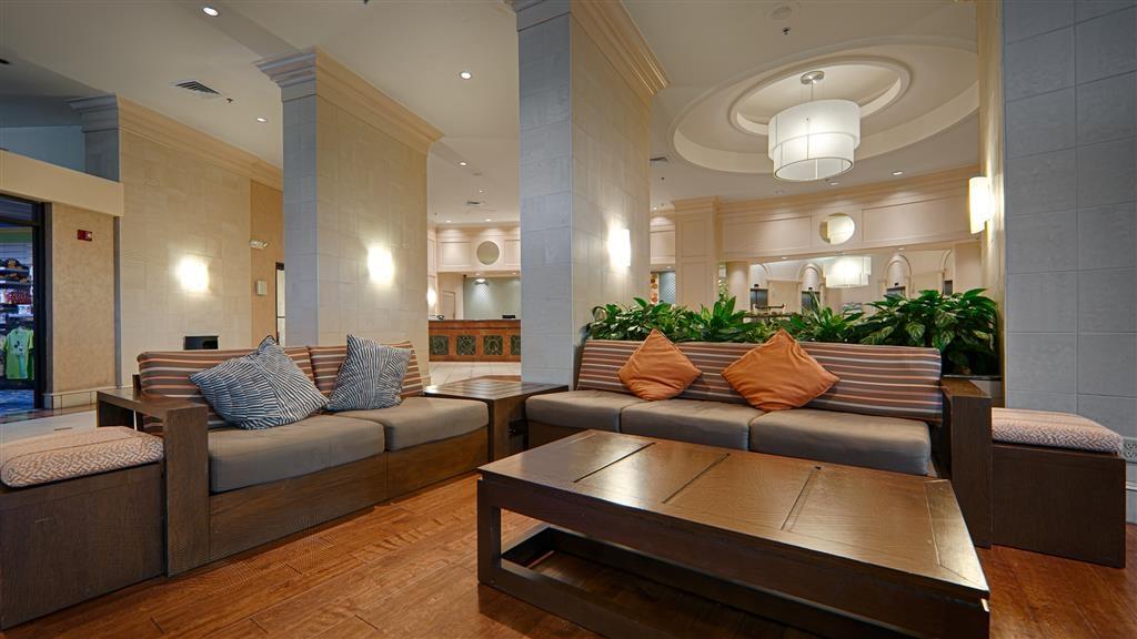 Best Western Lake Buena Vista - Disney Springs Resort Area - Vista del vestíbulo