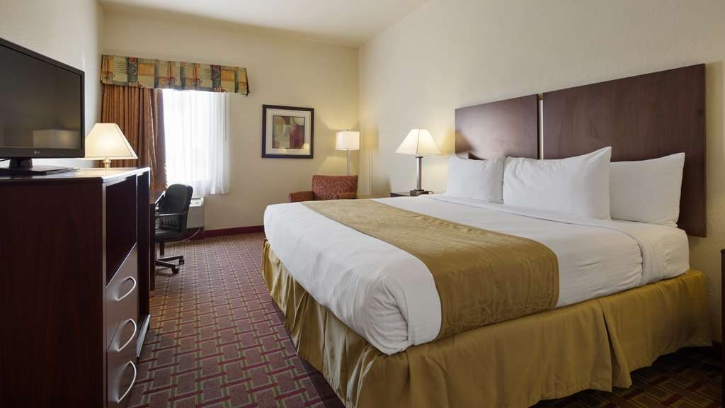 Best Western Tampa - King Bed Guest Room