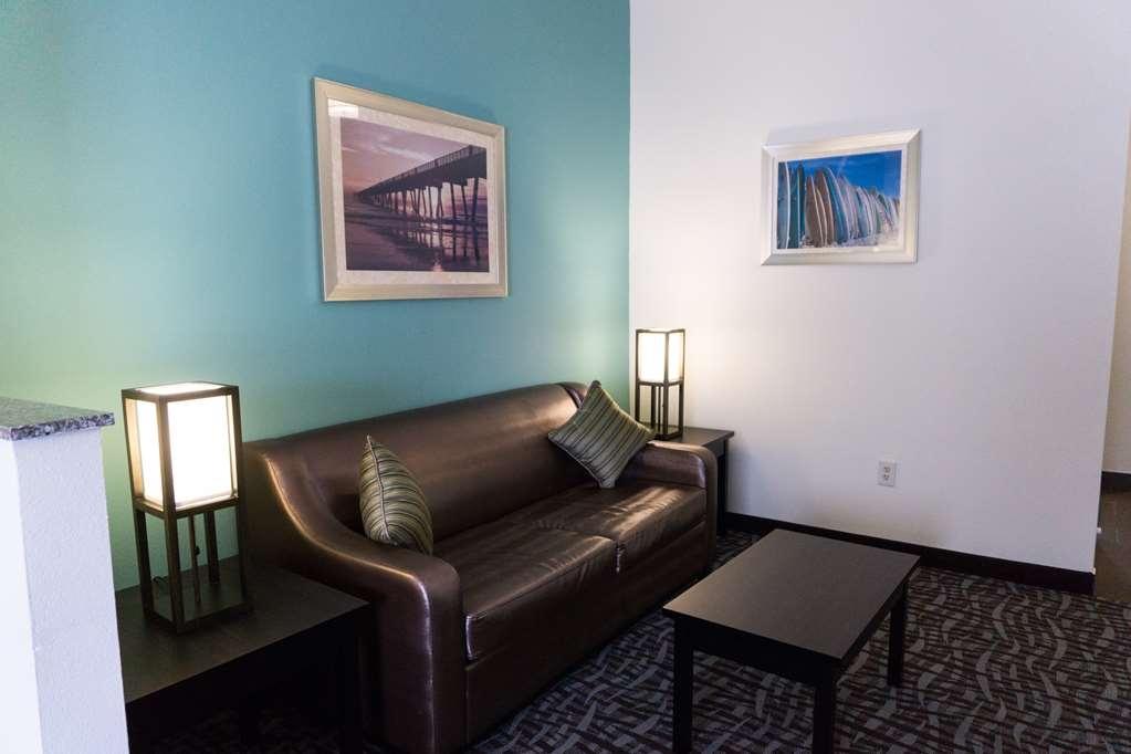 Best Western Mayport Inn & Suites - King Suite Seating Area w/Sleeper Sofa