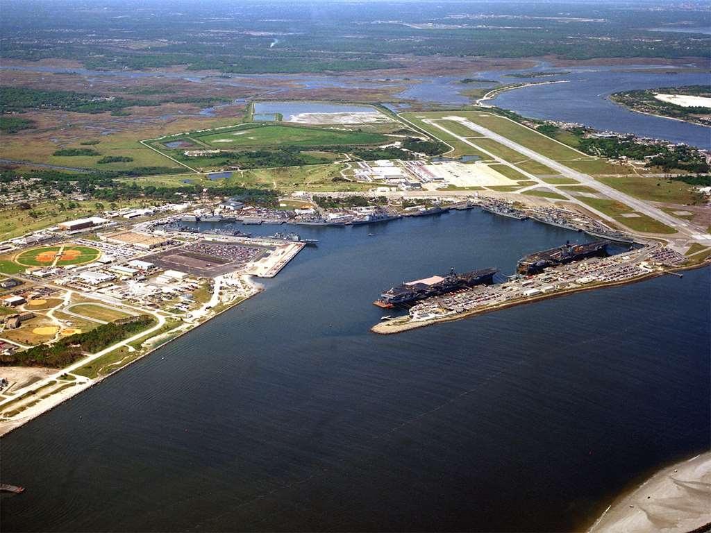 Best Western Mayport Inn & Suites - Naval Station Mayport aerial view