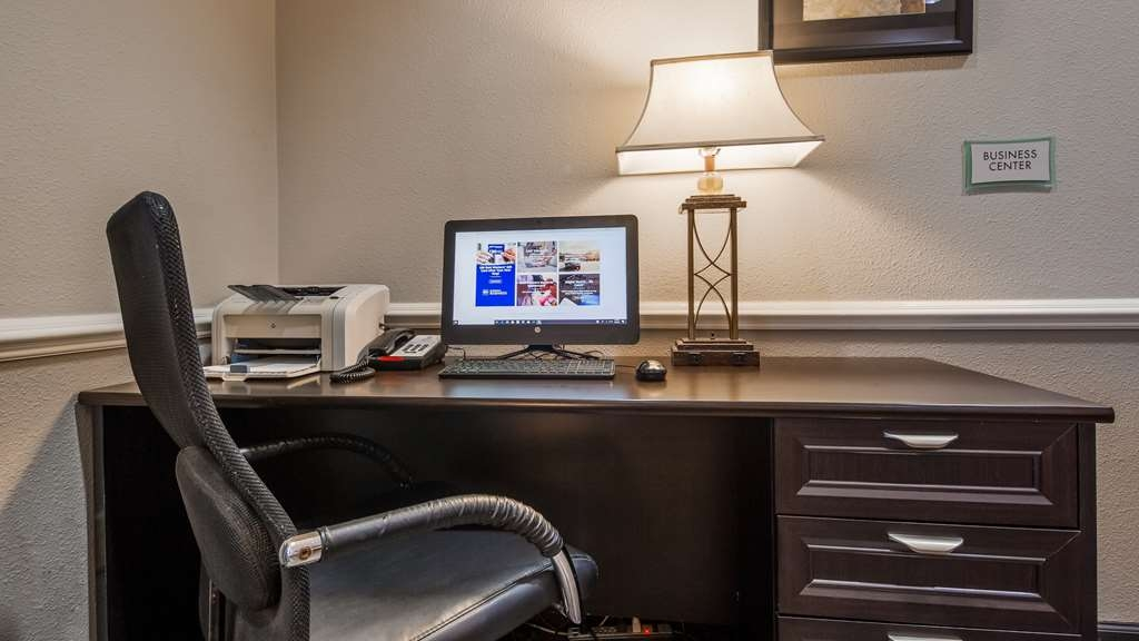 Best Western Mayport Inn & Suites - Business Center is complimentary and offered 24 hours a day.