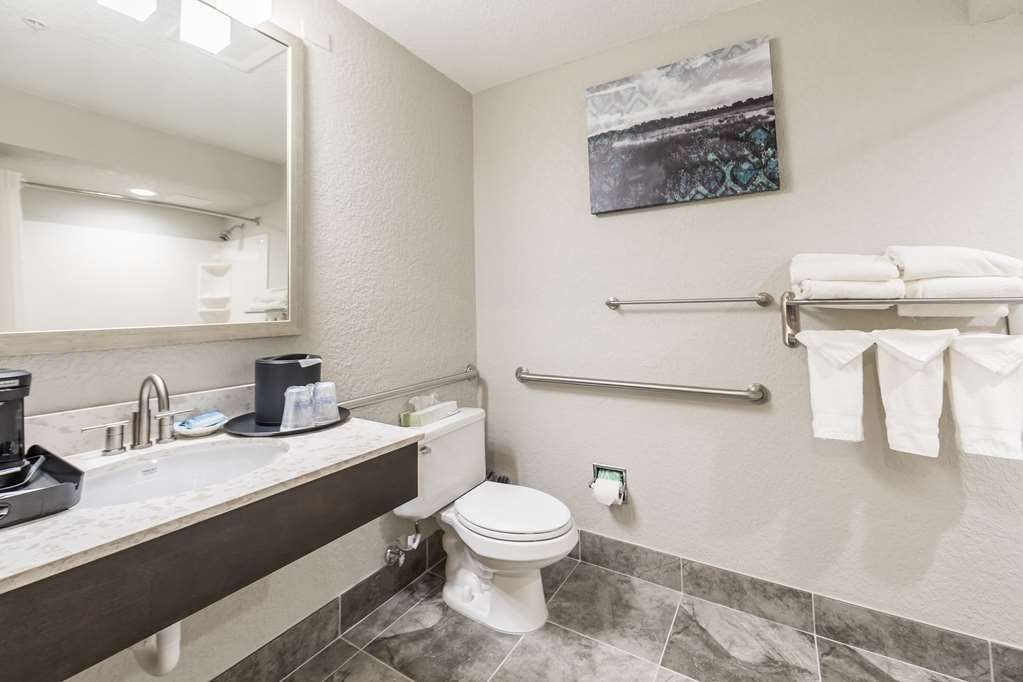 Best Western Plus Sebastian Hotel & Suites - ADA Bathroom