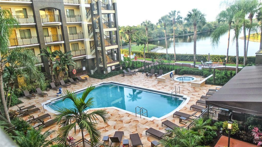 Best Western Plus Deerfield Beach Hotel & Suites - Our outdoor pool is perfect for swimming laps or taking a quick dip.