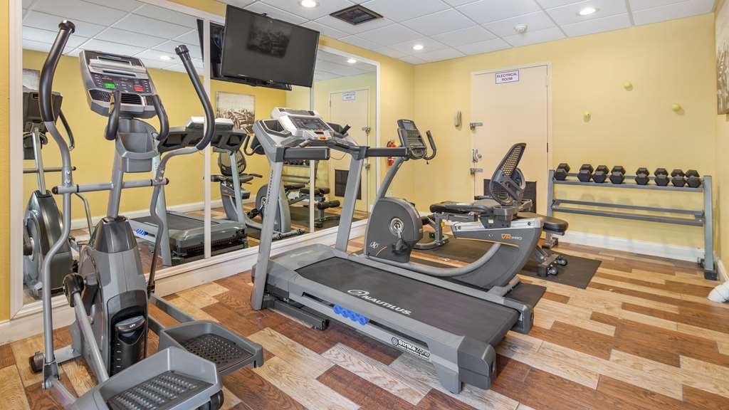 Best Western Plus Deerfield Beach Hotel & Suites - Our fitness center allows you to keep up with your home routine even when you're not at home.