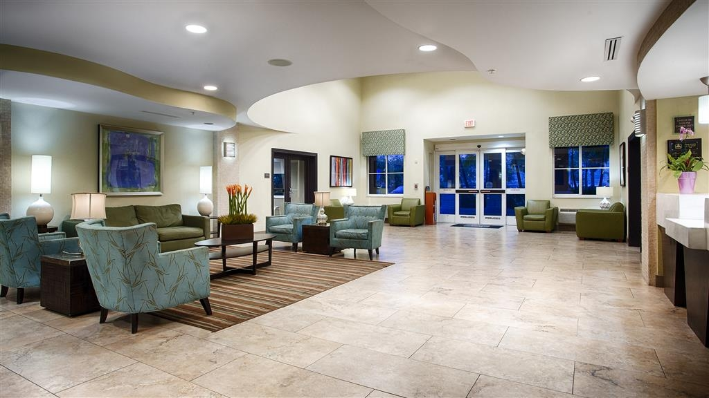 Best Western Plus Fort Lauderdale Airport South Inn & Suites - Vue du lobby