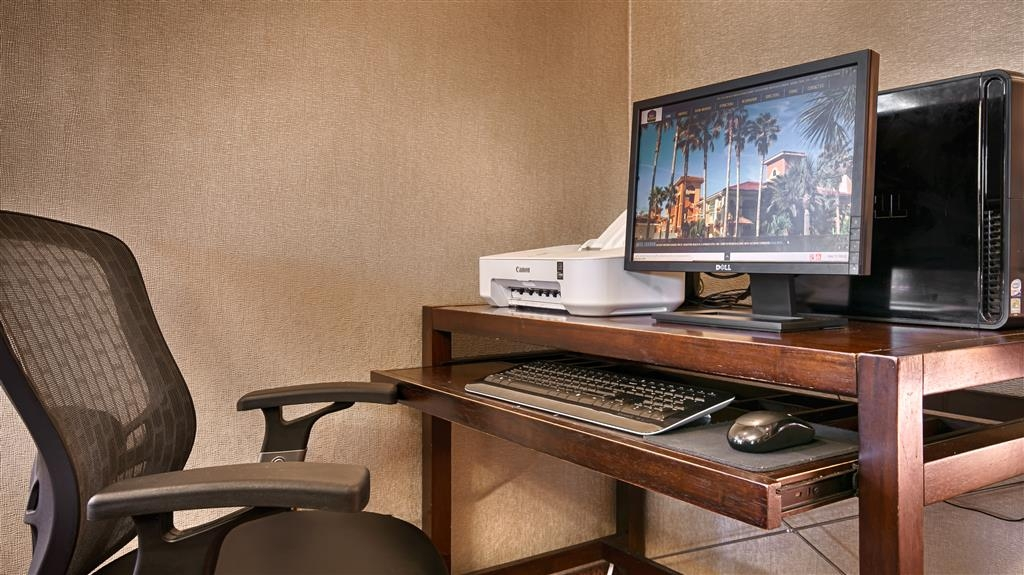 Best Western St. Augustine Beach Inn - Feel free to check your email in our business center.