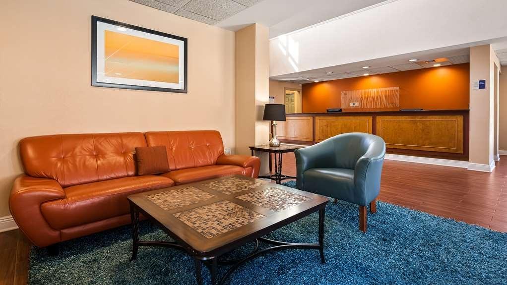 Best Western Milton Inn - Vue du lobby
