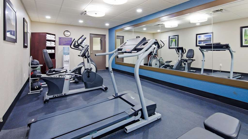 Best Western Waldo Inn & Suites - Maintain your fitness plan while you are away in our fitness center. We also have portable fitness equipment for in room use.