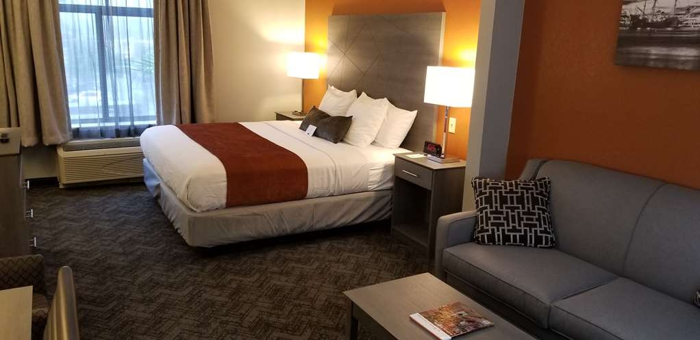Best Western Plus St. Augustine I-95 - King Mobility Accessible Room