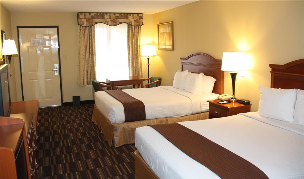Best Western Greenville Inn - Chambre avec lit queen size double