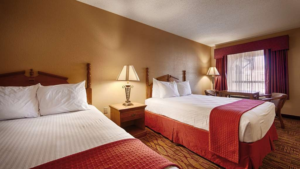 Best Western Inn - Sink into our comfortable beds each night and wake up feeling completely refreshed.