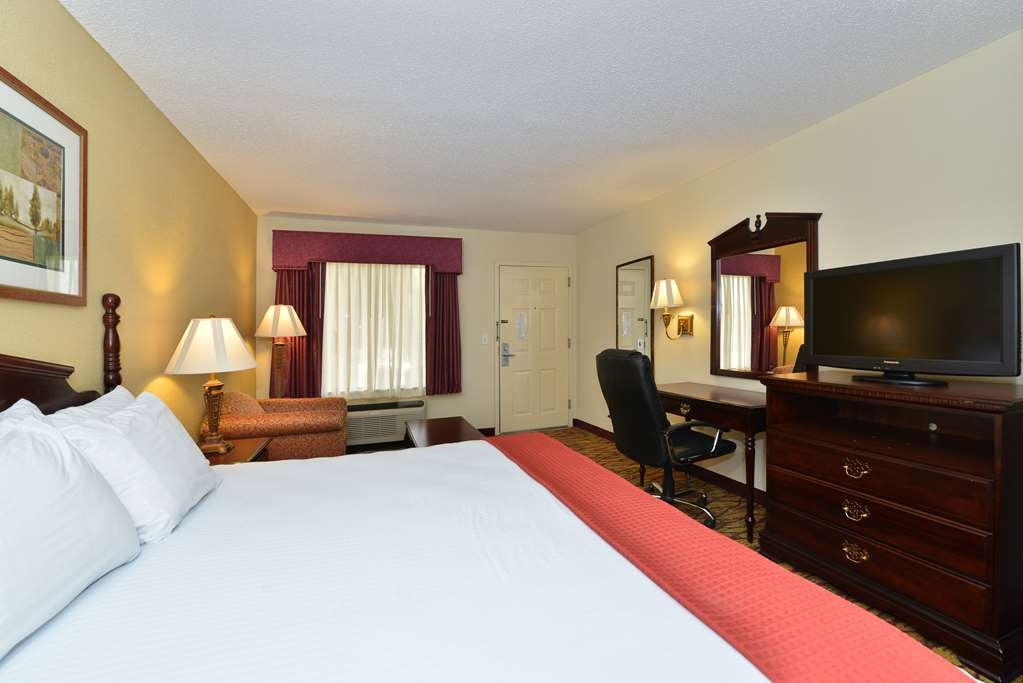 Best Western Inn - Relax after a long day of travel in our king guest room.