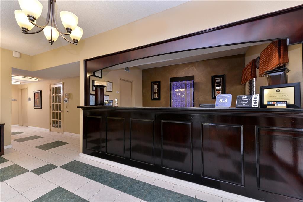 Best Western Inn - Vista del vestíbulo