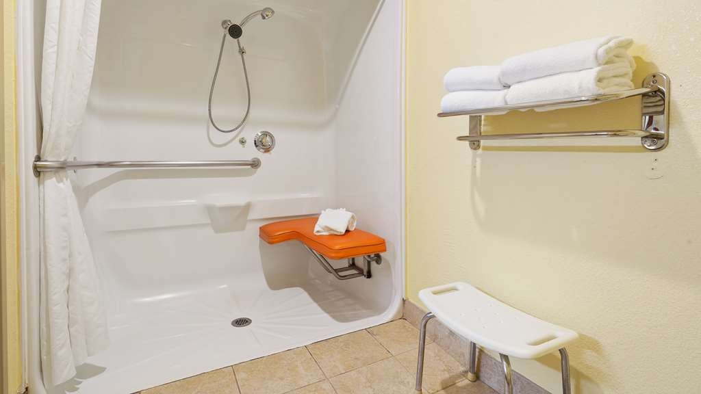 Best Western Plus Carlton Suites - We designed our ADA mobility accessible rooms for easy wheelchair access.