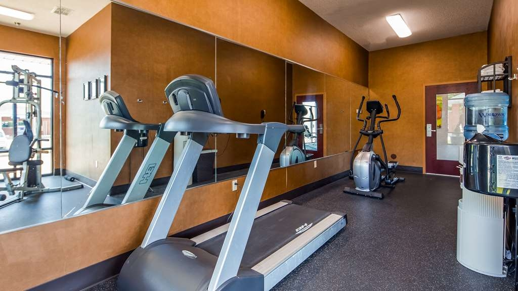 Best Western Plus Two Rivers Hotel & Suites - Fitnessstudio