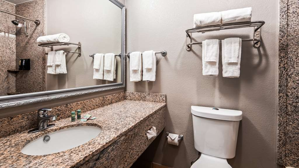 Best Western Auburn/Opelika Inn - Guest Bathroom