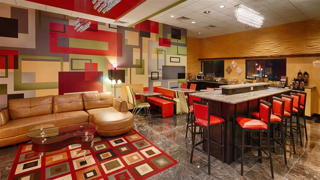 Best Western Executive Inn - Vue du lobby