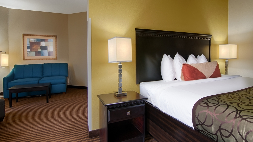 Best Western Plus Atlanta Airport-East - For a little more space, book king guest room with sitting area.