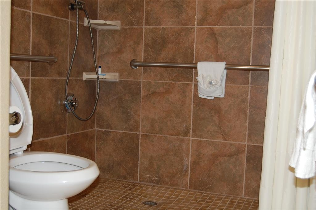 Best Western Southlake Inn - Mobility Accessible Roll In Shower