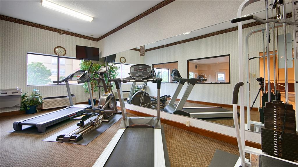 Best Western Inn & Suites of Macon - Stay healthy during your visit to Macon, Georgia in our fitness center.