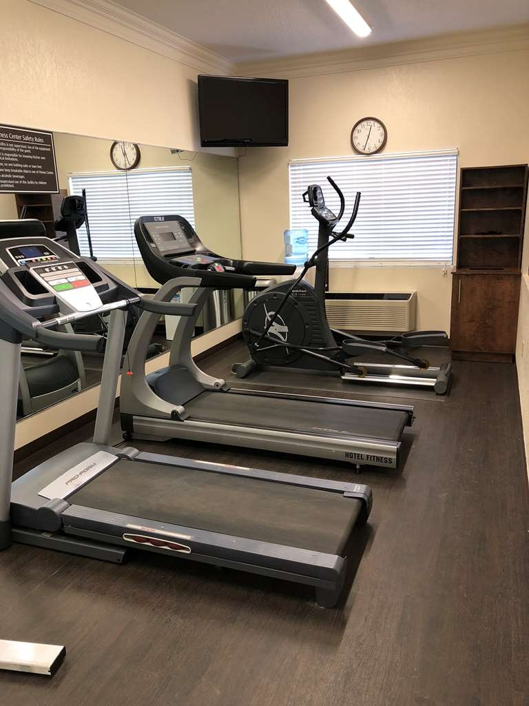 Best Western Inn & Suites - Enjoy our Fitness Center. Open Late!
