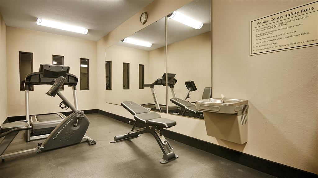 Best Western Plus Circle Inn - Fitnessstudio