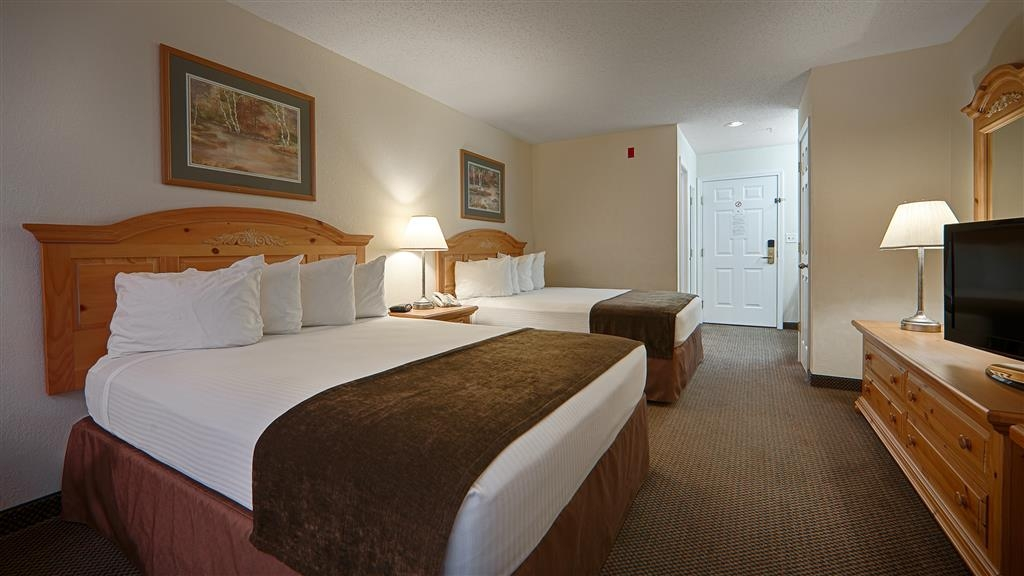 Best Western Mountain View Inn - Double Queen Guest Room