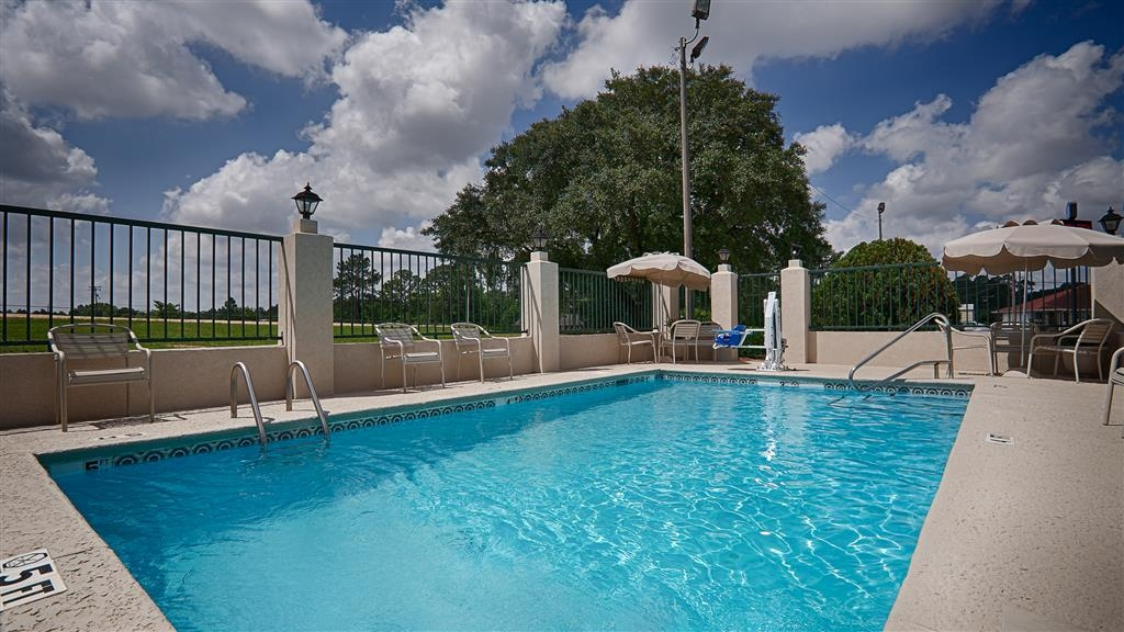 Best Western Ashburn Inn - Divertiti al sole con la tua famiglia nella nostra piscina all'aperto con area picnic.