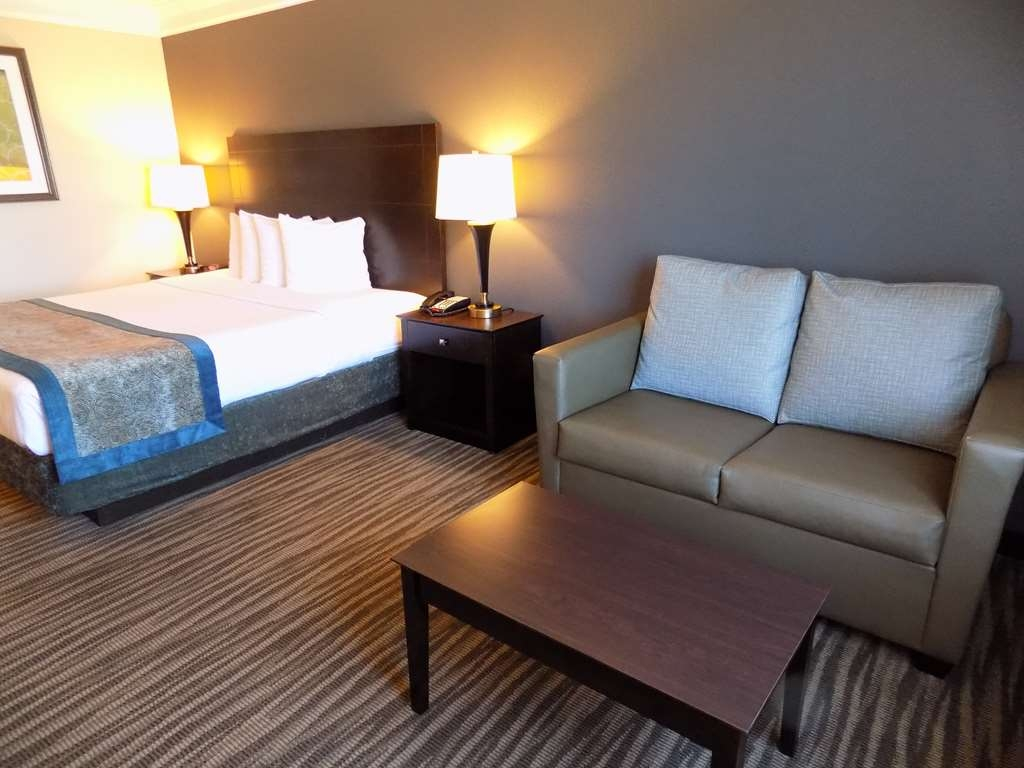 Best Western Augusta West - King with pull out sofa bed for that extra guest