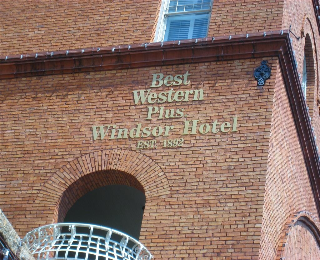 Best Western Plus Windsor Hotel - Vista esterna