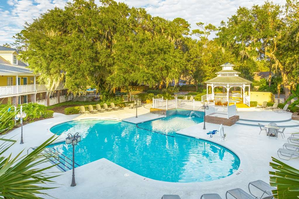 Best Western Plus St. Simons - We installed the mobility accessible pool lift system to help those with disabilities not to miss out on any of the action.