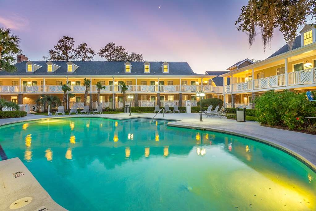 Best Western Plus St. Simons - Our outdoor pool is the perfect place to swim some early morning laps or enjoy an afternoon dip.