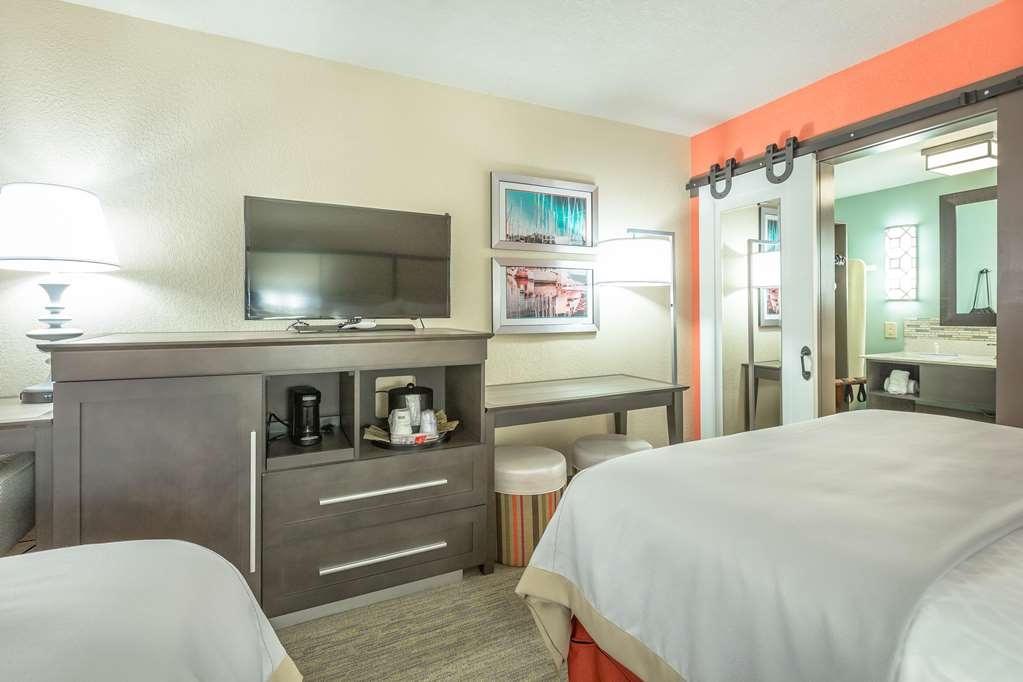 Best Western Plus St. Simons - Our standard 2 queen room designed with an open concept, ensuring you have enough room without sacrificing comfort.